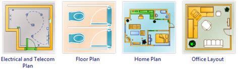 Blueprint Symbols building plan software edraw