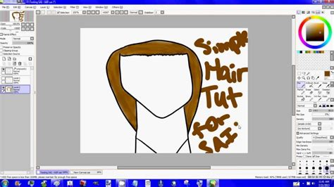 paint tool sai how to resize image how to use paint tool sai tutorial on how to brown