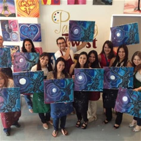 paint with a twist miami painting with a twist 111 photos paint sip mimo