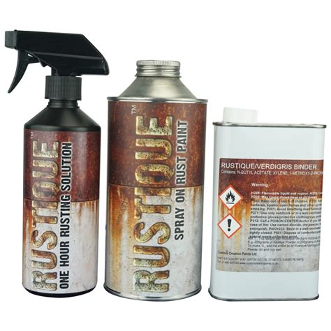 spray paint kit rustique spray on rust paint kit covers upto 4 sqmt