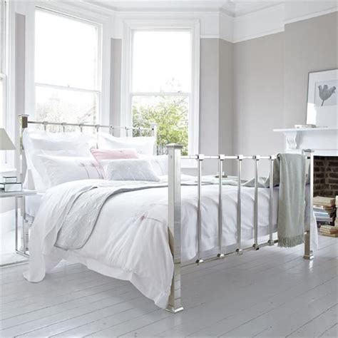 white metal bed white minimalist metal bed frame beds bedrooms