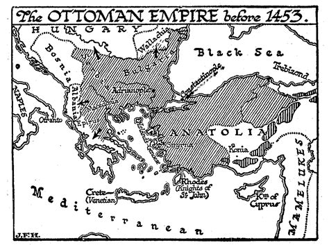 ottoman turks 1453 33 4 the ottoman turks and constantinople the outline of