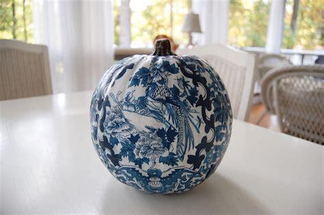decoupage pumpkin decoupage a pumpkin to match your decor