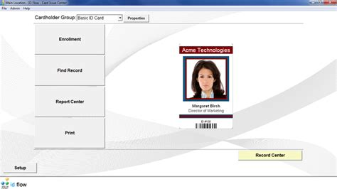 photo id card software free id flow free id card software