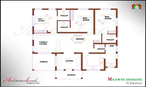 4 bedroom ranch house plans 4 bedroom house plans kerala