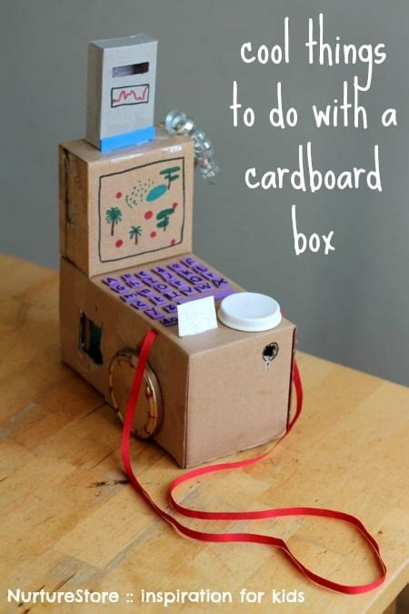 kid craft box junk model ideas free crafts e book nurturestore