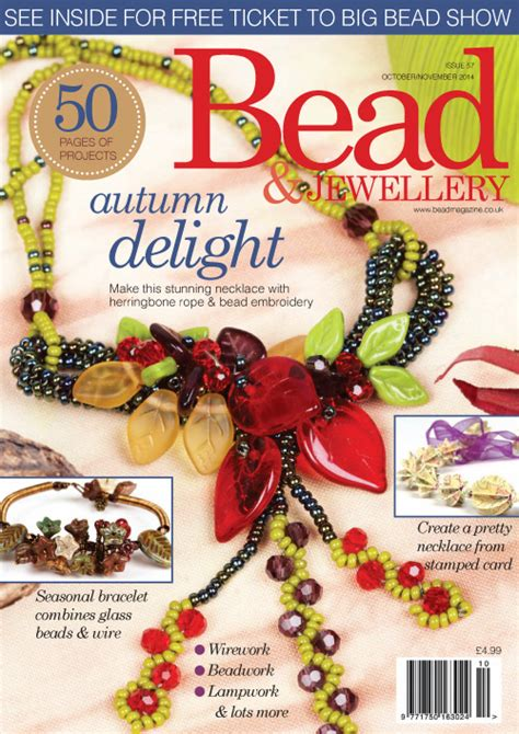 bead and jewellery magazine bead jewellery magazine october november 2014 187 pdf