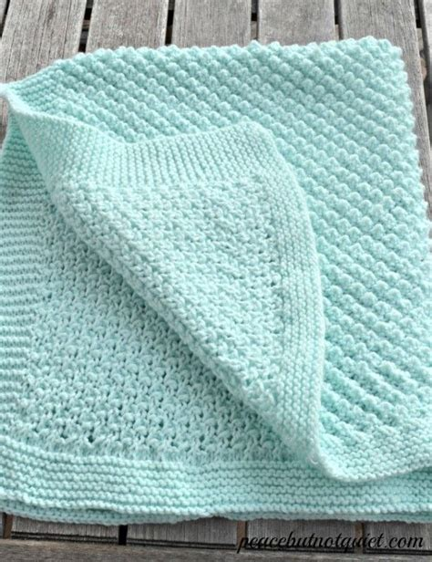 knitted blanket patterns for babies an adorable popcorn baby blanket pattern stitches