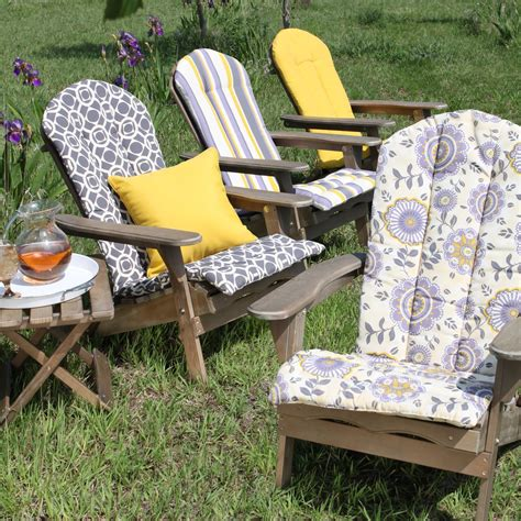 Cushions For Adirondack Chairs by Beautiful Adirondack Outdoor Chair Cushion With Floral