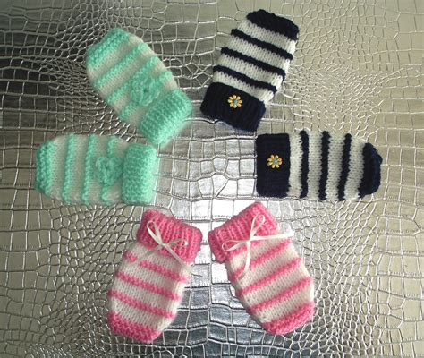 easy toddler mitten knitting pattern marianna s lazy days garter stitch ridge baby mittens