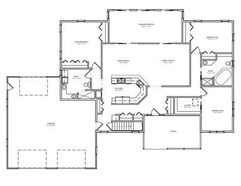 house plans with room great room house plan d67 2322 the house plan site