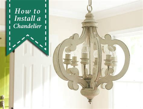 how to install chandelier installing a chandelier cernel designs