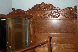antiques bedroom furniture three solid oak bedroom set for sale antiques