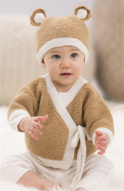teddy cardigan knitting pattern baby set knitting patterns in the loop knitting