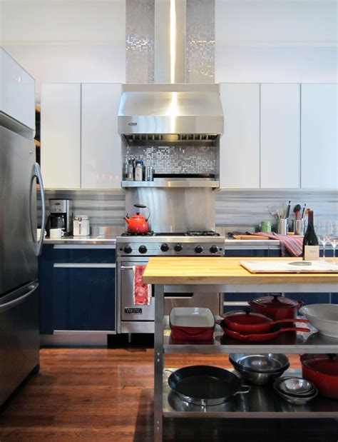 how to do backsplash in kitchen how to make the most of stainless steel backsplashes