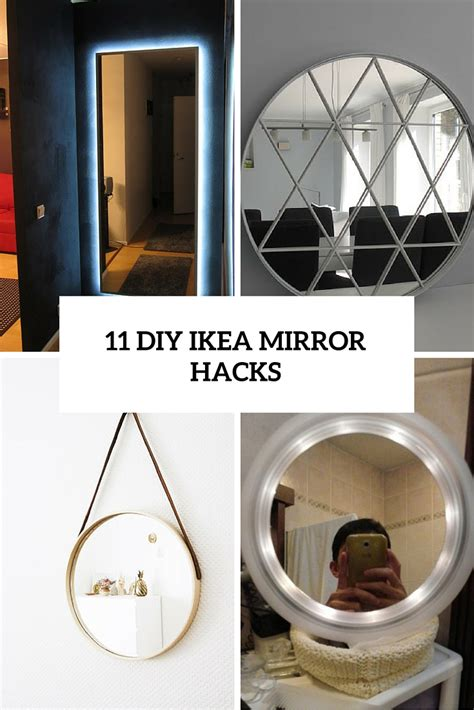 How To Make Halloween Decorations At Home 11 beautiful diy ikea mirrors hacks to try shelterness