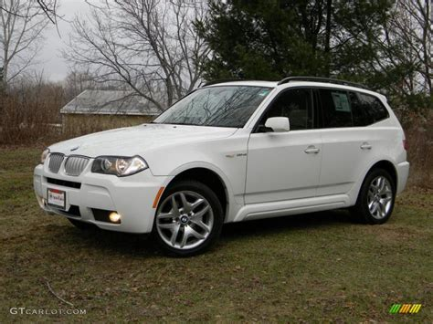 2007 Bmw X3 3 0si by Alpine White 2007 Bmw X3 3 0si Exterior Photo 40681498