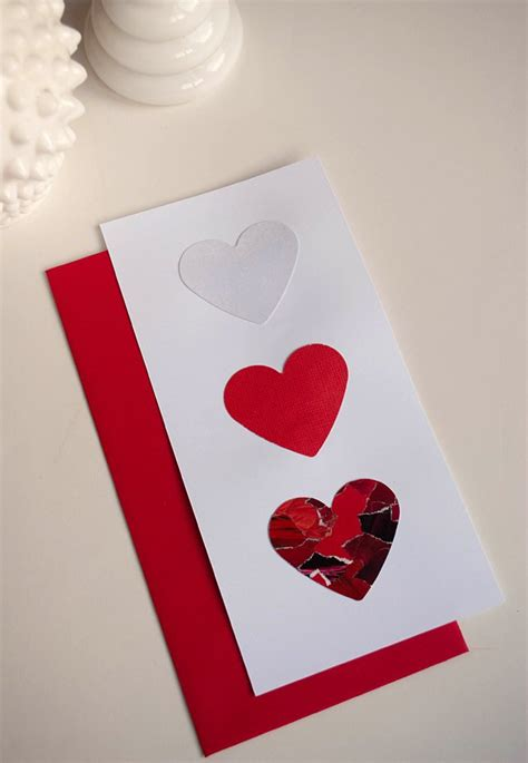 make an valentines card make diy day s cards using recycled magazines