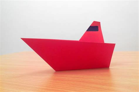 origami boat step by step free coloring pages how to make an origami boat step by