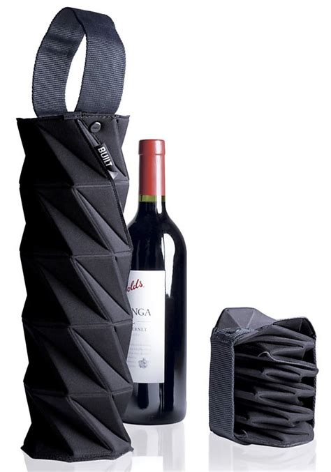 built origami wine tote built ny origami wine chagne tote notcot