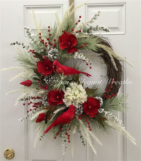 decorating wreaths ideas wreath cardinal wreath wreath