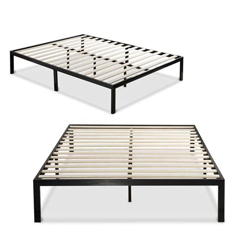 bed frame and box bed frame and box spa sensations steel smart base