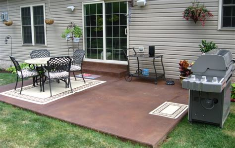 outdoor concrete patio designs concrete patio ideas nz landscaping gardening ideas