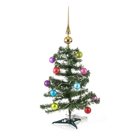 light baubles artificial indoor tree with led lights baubles