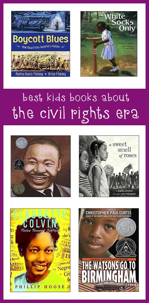 civil rights picture books civil rights books best books about the era