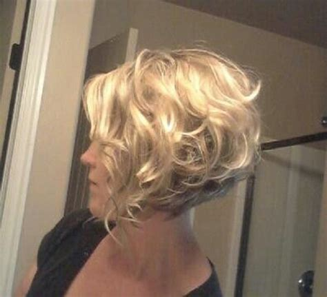 stacked bob haircut pictures curly hair 25 best ideas about curly bob hairstyles on pinterest