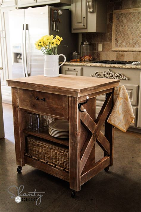 building an island in your kitchen kitchen island inspired by pottery barn shanty 2 chic