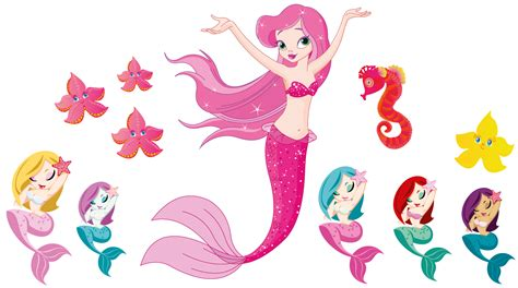 mermaid wall sticker mermaid bath decal stickers totally movable ebay