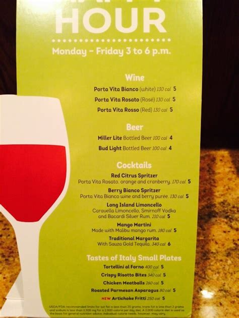 olive garden happy hour specials monday friday 3 6pm yelp