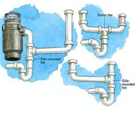 plumbing diagram for kitchen sink with garbage disposal intelligent sink drain scheme image of properly