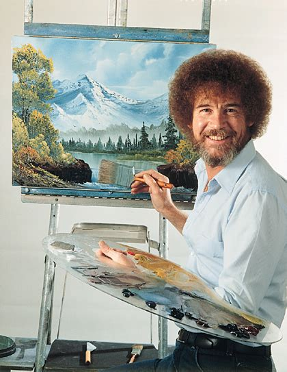 The Surprisingly Mysterious Of Famed Artist Bob Ross