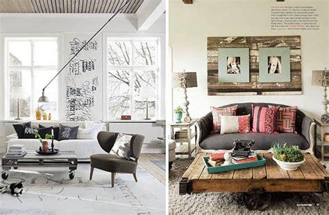 decoracion de mesas de salon decora con mesas de estilo industrial tu sal 243 n