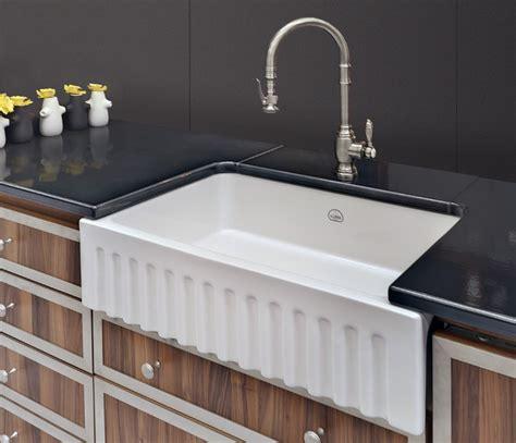 traditional kitchen sinks la cornue vasque fireclay sink traditional kitchen
