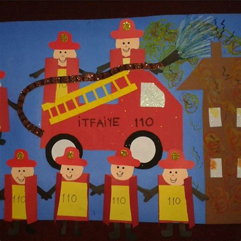 firefighter crafts for fireman crafts for preschoolers pictures to pin on