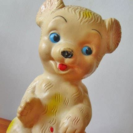 teddy rubber st 34 best images about vintage rubber toys on
