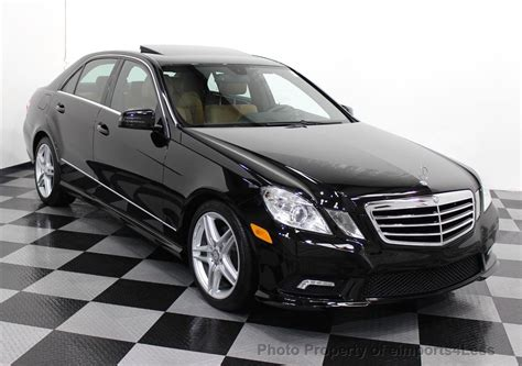 2011 Mercedes E350 4matic by 2011 Used Mercedes E350 4matic Awd Amg Sport