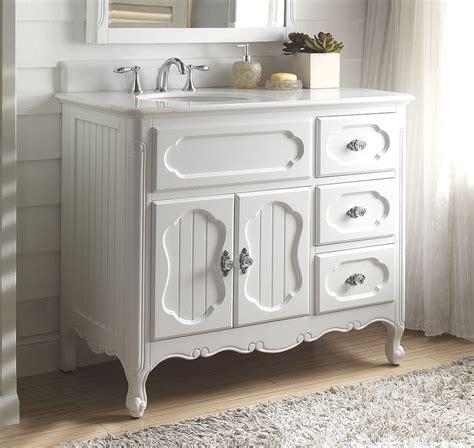 white bathroom sink vanity 42 quot white knoxville bathroom sink vanity gd 1509w 42bs