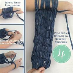 arm knitting scarf step by step 17 best ideas about arm knit scarf on