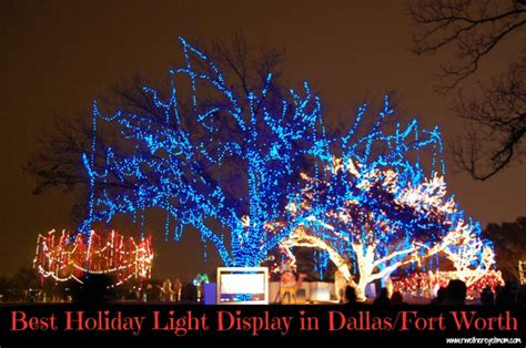 light displays dallas best light displays in dallas fort worth 2012