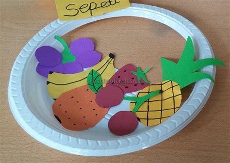 paper plate craft ideas for preschool fruits paper plate craft ideas for preschool