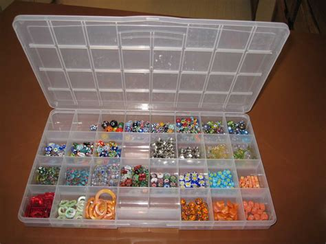 bead organiser easy way to keep earrings organized and dust free i