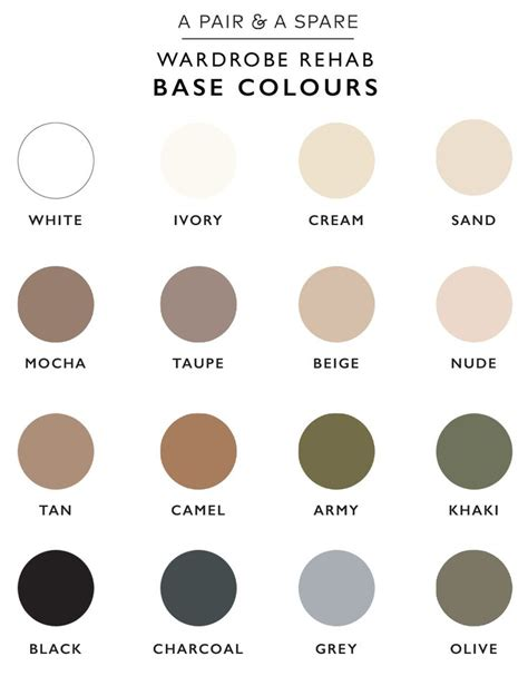 list of neutral colors best 25 neutral colors ideas on play a latte