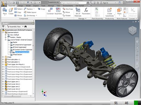 Inventor how and when to use autodesk inventor lod rep s for