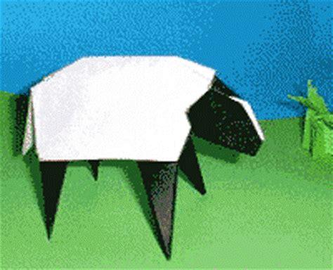 3d origami sheep origami sheep 3d origami step by step