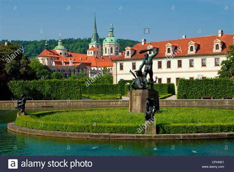 Der Garten Tschechischer by Garden Wallenstein Stockfotos Garden Wallenstein Bilder
