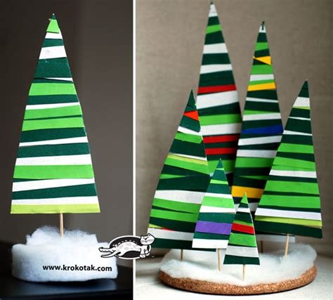 paper strips craft how to make paper strips fir tree diy crafts handimania